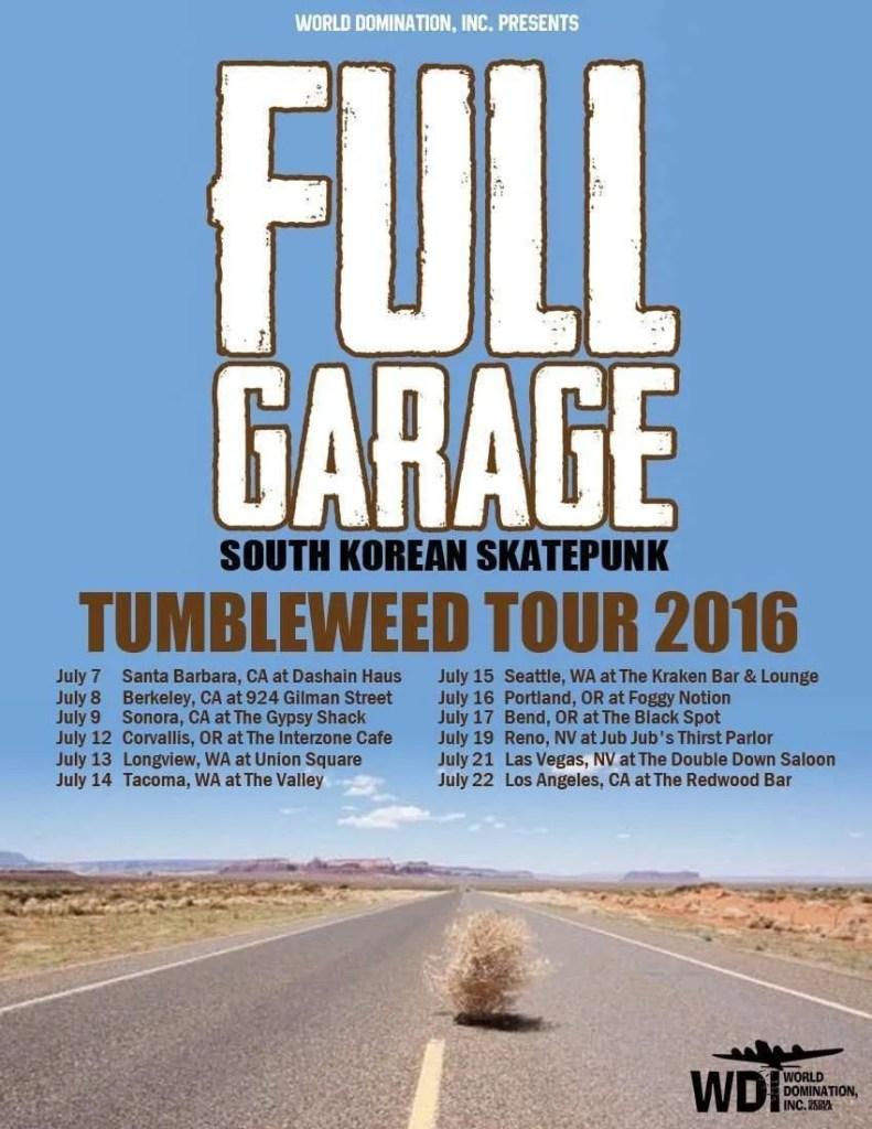 full garage tumbleweed tour 2016