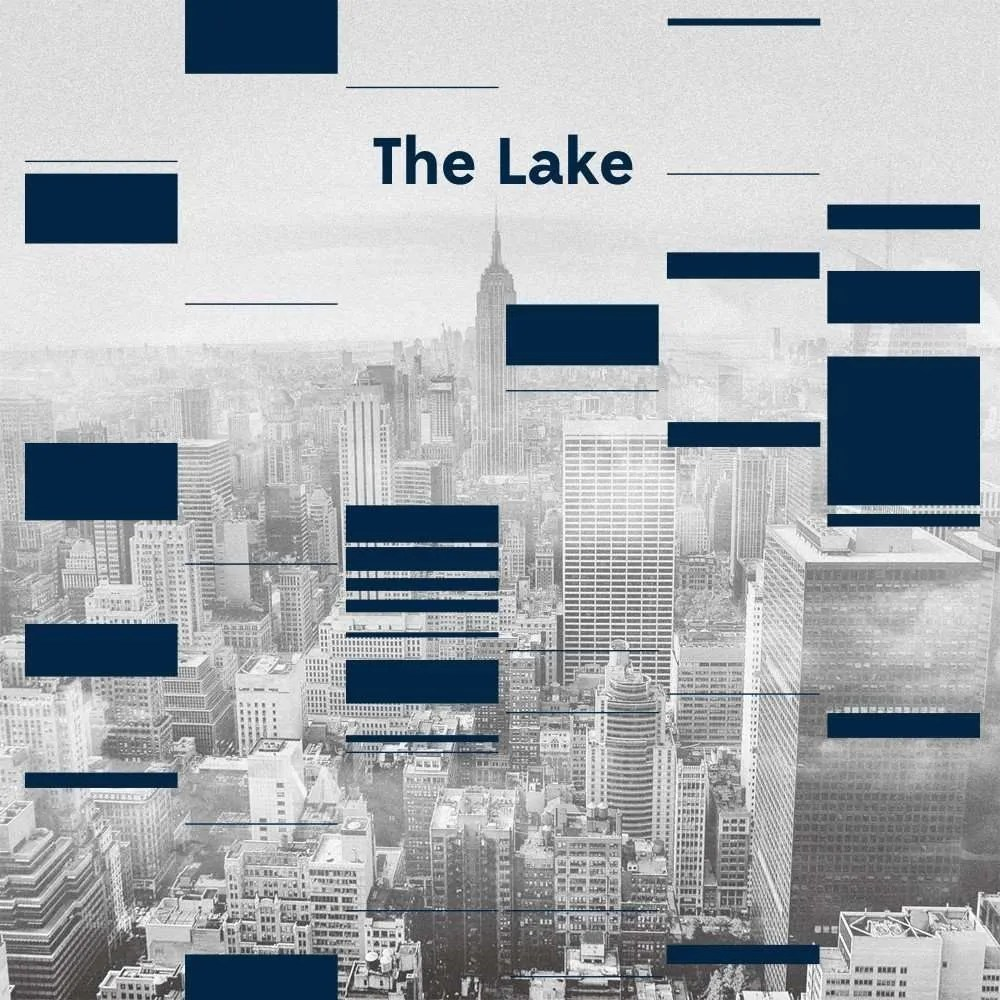 the lake lake in the city