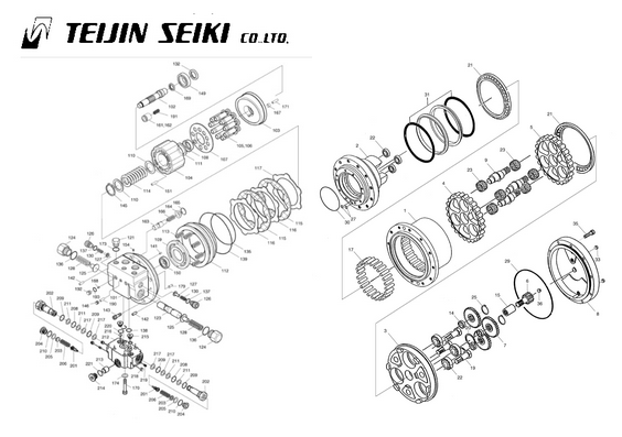 TEIJIN-SEIKI Travel Motors
