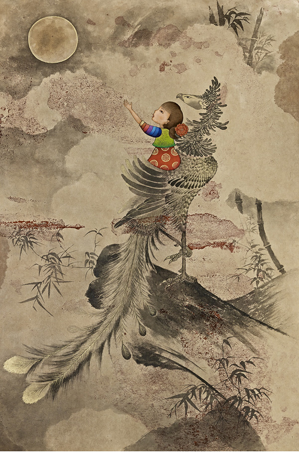 Colorful Korean Traditional Paintings On Display At KCCLA