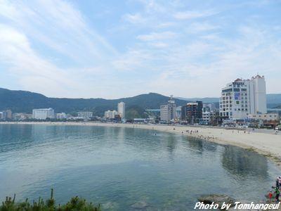 初夏の釜山・松亭海水浴場   韓國&韓國旅行   トム・ハングル