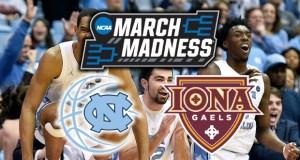 March Madness 2019 Prediction –UNC vs Iona analysis