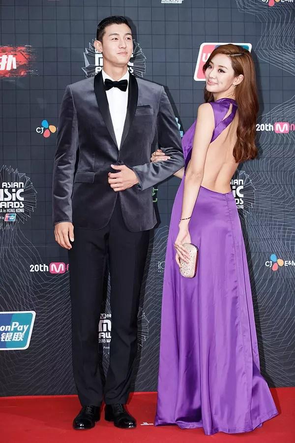 Lee Ki Woo and Stephanie Lee