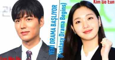 Lee Min Ho ve Kim Go Eun'in Yaklaşan Fantezi Drama için Senaryo Okumaya Başladı