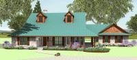 Wrap Around Porch S2635B   Texas House Plans - Over 700 ...
