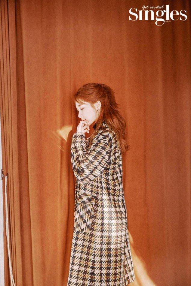 Yoo In Na 'Singles' Dergisinin Kasım Sayısında - KoreZin