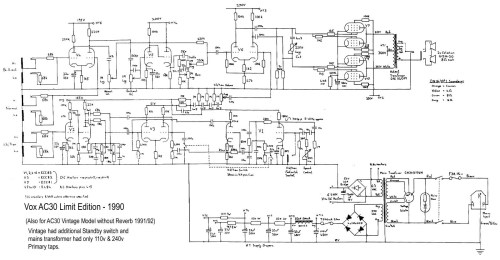 small resolution of ac30 top boost limited edition model 1990 download diagram