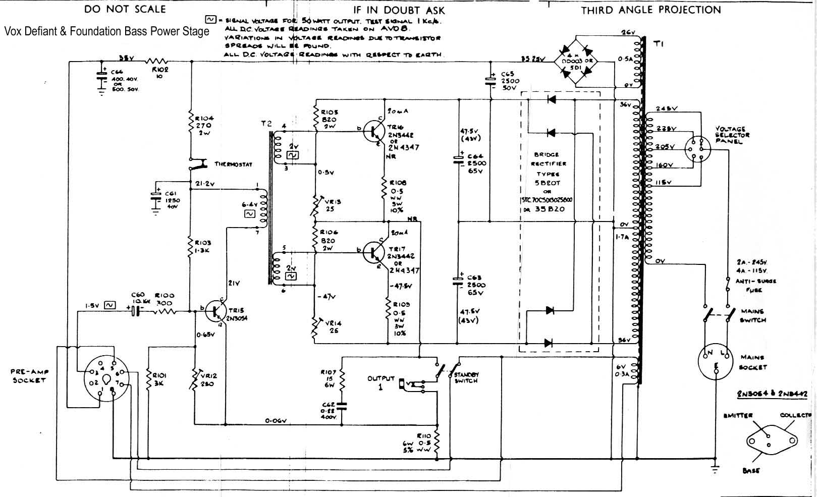 Wrg 5 Watt Amplifier Circuit Diagram