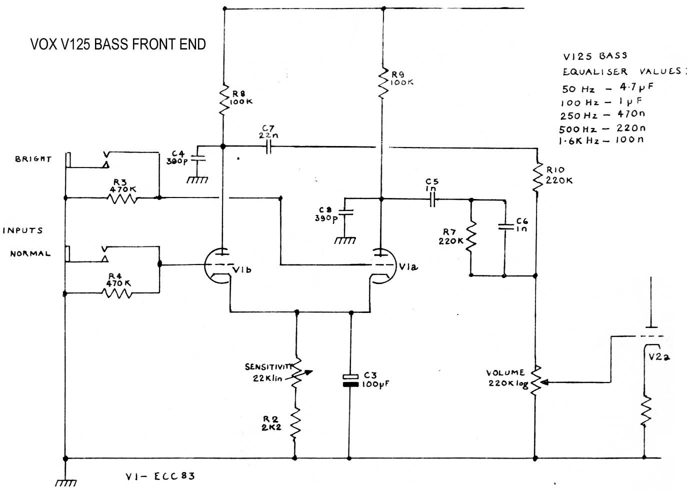 hight resolution of  vox vintage circuit diagrams on free schematic diagram hitachi 55hdt79 free electrical schematics