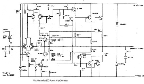 small resolution of vox vintage circuit diagrams solid state amp wiring diagram