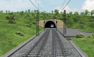 Tunel Deboreč - vjezdový portál