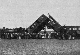 Říčany, nehoda 9.12.1916