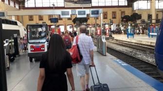Nádraží Marseille Nástupiště TGV (Autor: Luboš Sládek, koridory.cz)
