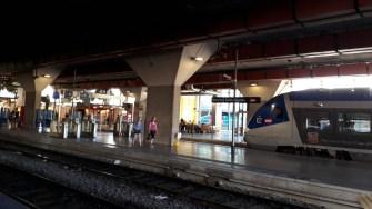 Nádraží Marseille Regionální nástupiště (Autor: Luboš Sládek, koridory.cz)