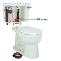Toilet Fill Valve | Replacing Toilet Fill Valve | Fill ...