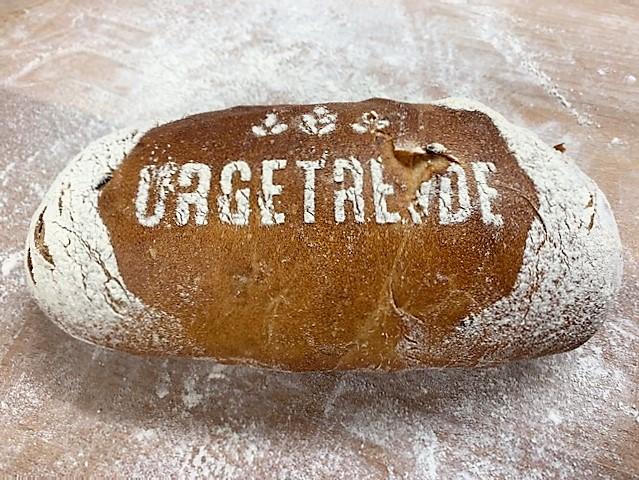 Brot mit fermentierten Dinkelsprossen