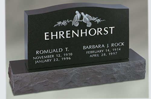 Pictures Of Black Granite Headstones For Sale With Prices