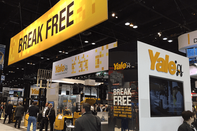 We helped Yale debut the new Break Free concept at ProMat 2015