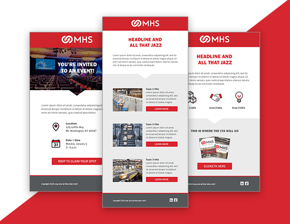 Find out how we streamlined MHS' email marketing program.