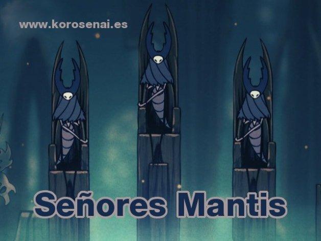 Hollow Knight: Señores de las Mantis