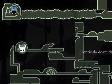 Hollow Knight Reina Localización
