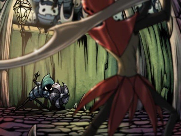 Coliseo de los Insensatos en Hollow Knight