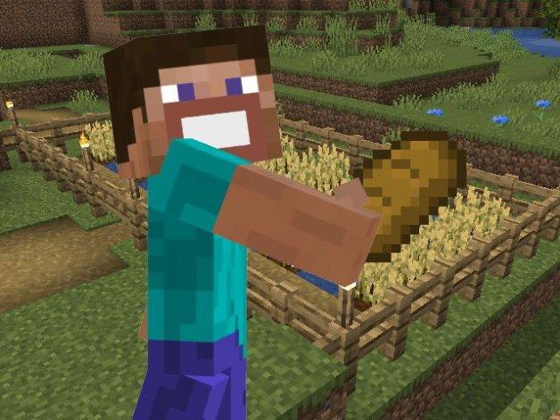 Hacer Pan en Minecraft