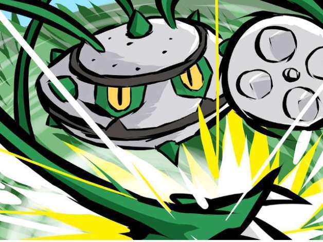 Ferrothorn en Pokémon