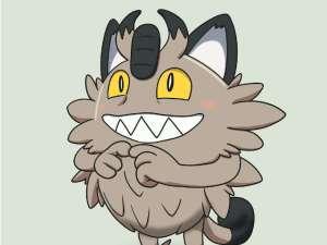 Meowth de Galar en Pokémon