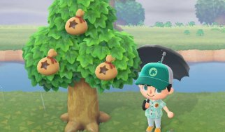 Árbol de Bayas (Dinero) en Animal Crossing New Horizons