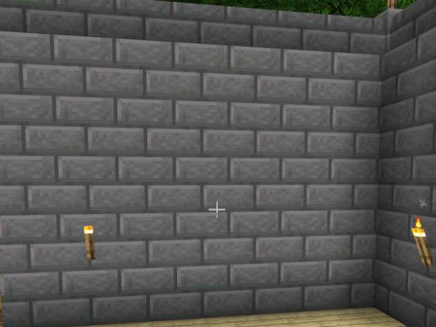 Bloque de Ladrillos de Piedra en Minecraft