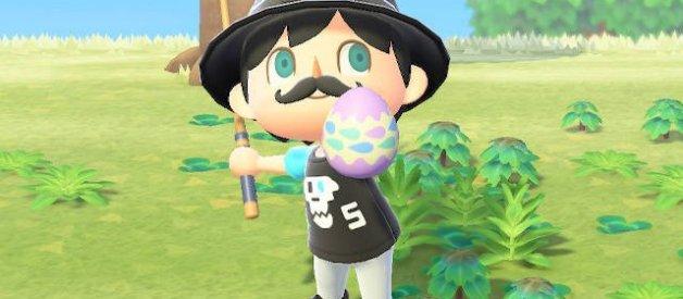 Caza del Huevo en Animal Crossing New Horizons