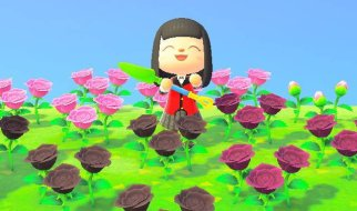 Flores en Animal Crossing New Horizons