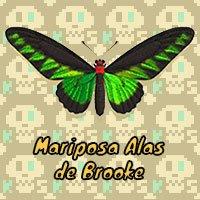 Mariposa Alas de Brooke en Animal Crossing New Horizons