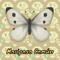 Mariposa Común en Animal Crossing New Horizons