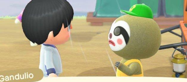Gandulio en Animal Crossing New Horizons