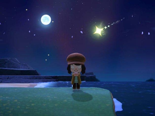Lluvia de Estrellas en Animal Crossing New Horizons