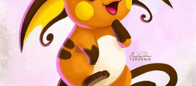 Raichu en Pokémon
