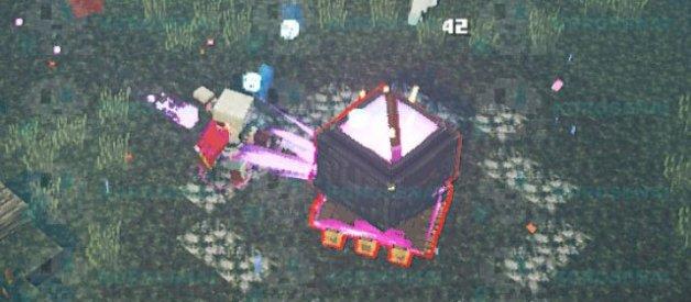 Caldero Adulterado en Minecraft Dungeons
