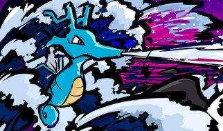 Kingdra en Pokémon