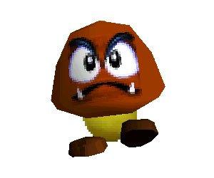 Goomba en Super Mario 64