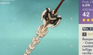 Armas del Pase de Batalla en Genshin Impact