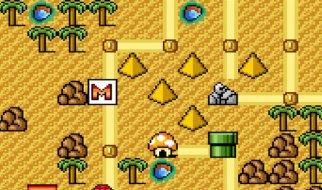 Mundo 2 en Super Mario Bros 3
