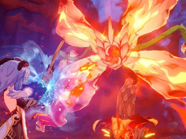 Regisvid Pyro en Genshin Impact