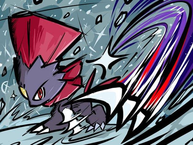 Weavile en Pokémon