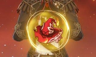 Bruja Carmesí en Llamas en Genshin Impact