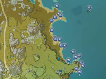 Localización de la Caracola Estelar en el Mar de Nubes