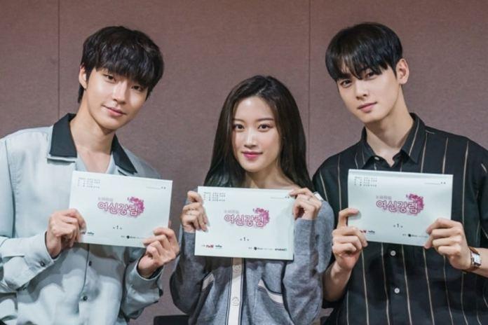 ฮวังอินยอบ มุนกายอง ชาอึนอู True Beauty