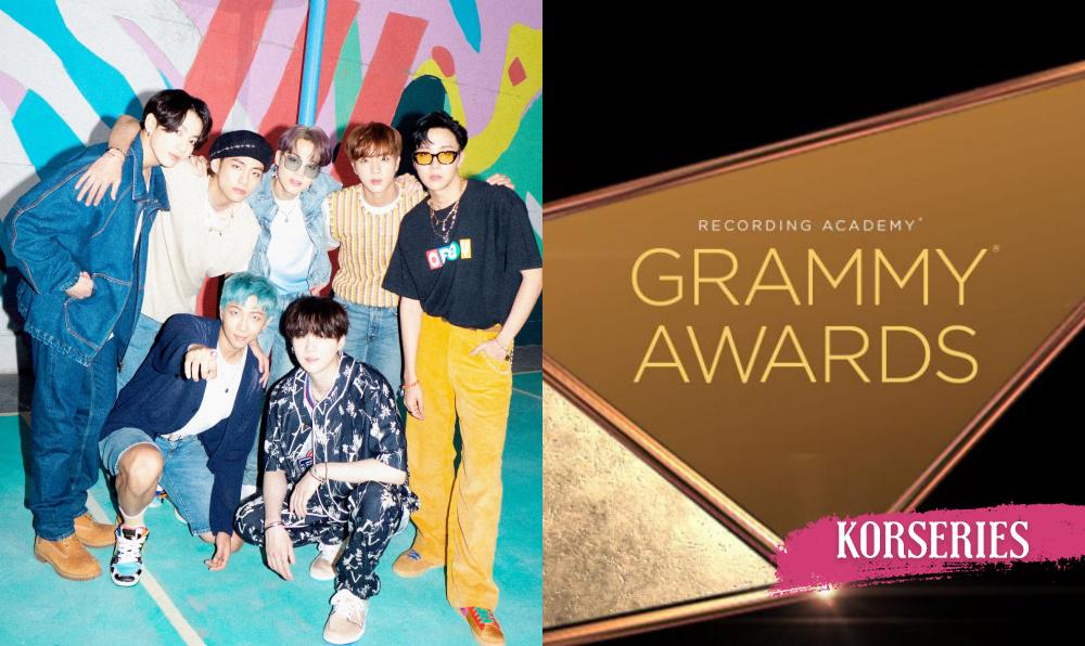 BTS 2021 Grammys