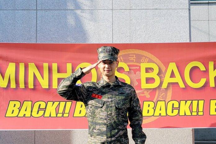 Minho is Back มินโฮ SHINee